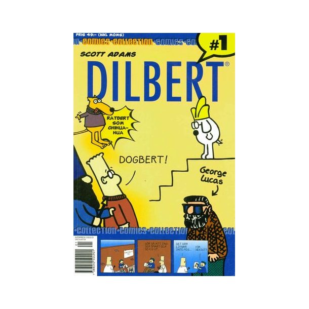 Dilbert Collection 1 - Ratbert som Chihuahua