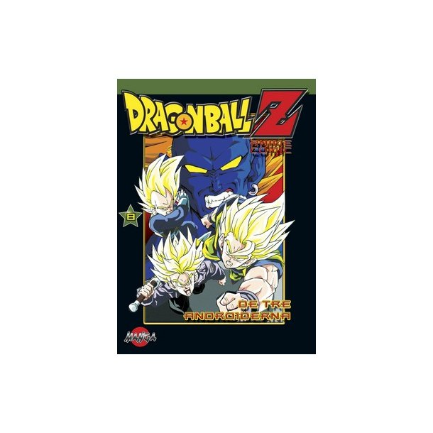 Dragon Ball Z 08 - De tre androiderna