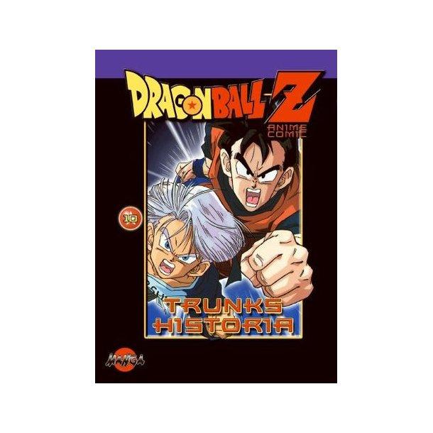Dragon Ball Z 10 - Trunks historia