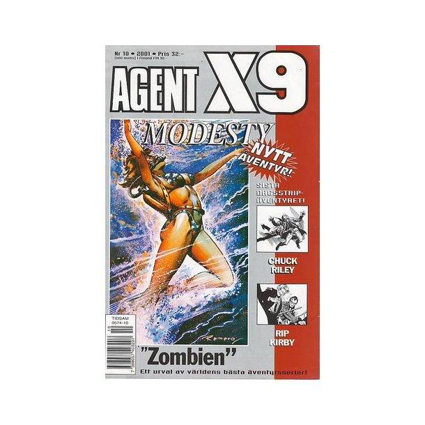 Agent X9 2001/10