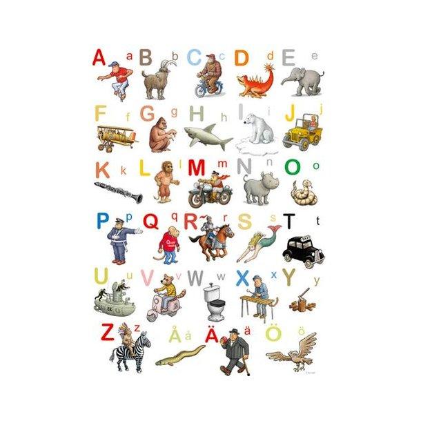Affisch - Jan Lööfs ABC