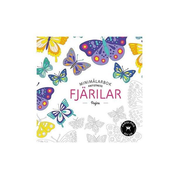 Fjärilar minimålarbok