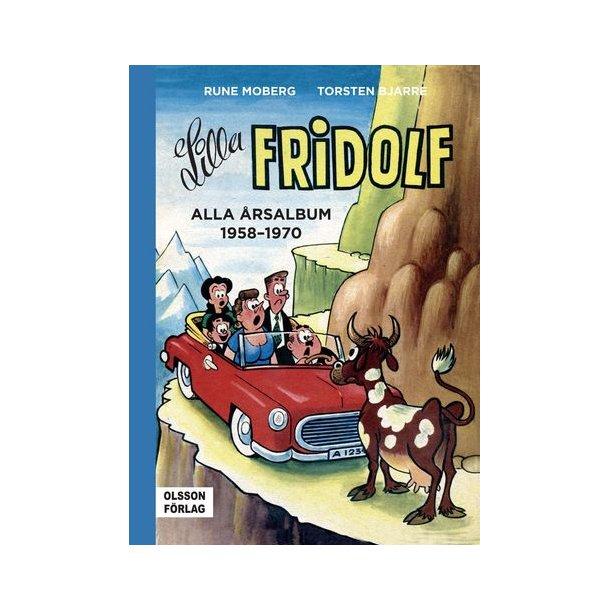 Lilla Fridolf - Alla årsalbum  1958-1970
